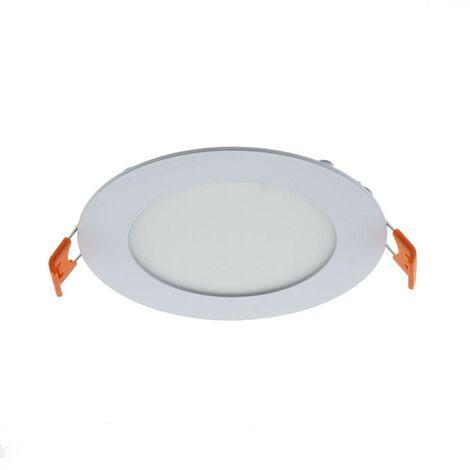 Downlight LED circular empotrable 6W -Corte Ø 110 mm-5 años de garantía