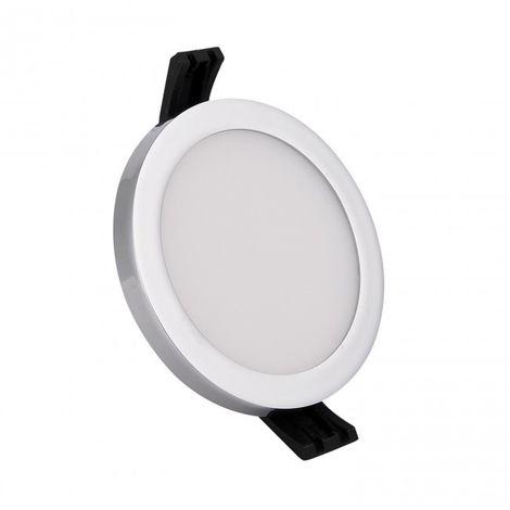 Downlight LED círculo 9W cromo 4000K