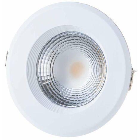 Downlight LED COB Empotrable 10W 120° High Lumen
