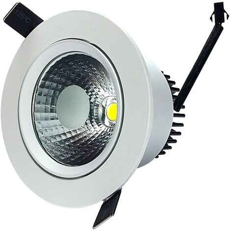 Downlight Led COB Empotrable Orientable 12W -Disponible en varias versiones