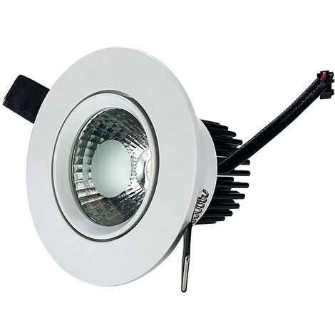 Downlight Led COB Empotrable Orientable 7W -Disponible en varias versiones
