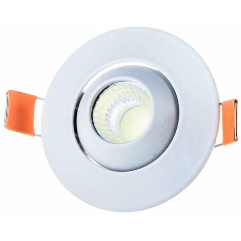 Downlight led Cob Mini Premium empotrable Circular Orientable 3W 60°