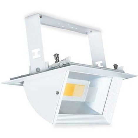 Downlight LED COB orientable empotrable rectangular 30W 4200K 2500lm blanco GSC 0702130