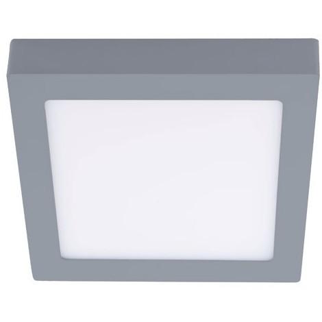 Downlight LED Cuadrado 20W superficie (gris) - Wonderlamp