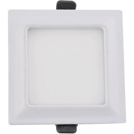 DOWNLIGHT LED CUADRADO 9W BLANCO
