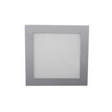 Downlight LED cuadrado aluminio 22W 6400K Jiso