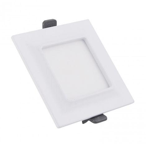 Downlight LED cuadrado Moldura 9W blanco 4000k