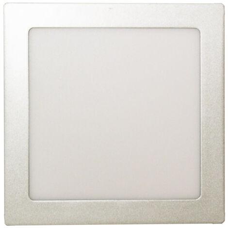 Downlight LED de superficie, cuadrado Plata, 18 W 81.640/C/P/DIA Electro Dh 8430552145669