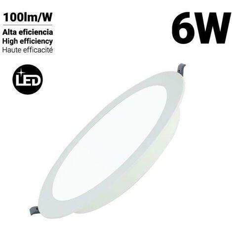 Downlight LED DOB circular empotrable 6W Corte Ø77mm | Blanco Frío