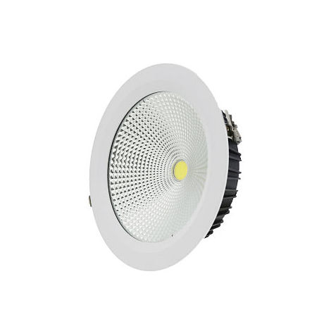 Downlight led empotrable blanco 30w