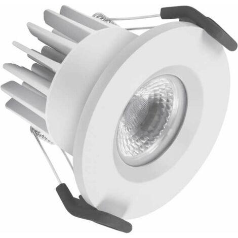 Downlight led empotrable blanco tipo SPOT de 7W . Luz cálida de Ledvance