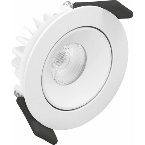 Downlight led empotrable blanco tipo SPOT de 8W . Luz neutra de Ledvance