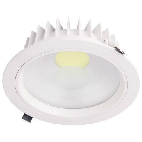 Downlight LED Empotrable Redondo 18W 1539lm Ø20cm 4000K Blanco Eilen