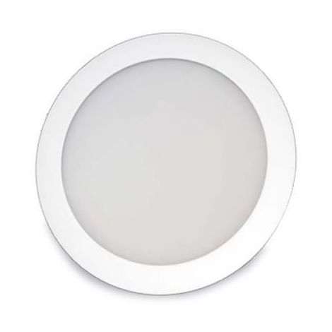 Downlight LED empotrable redondo 18W 1600lm 6400K blanco GSC 0703417