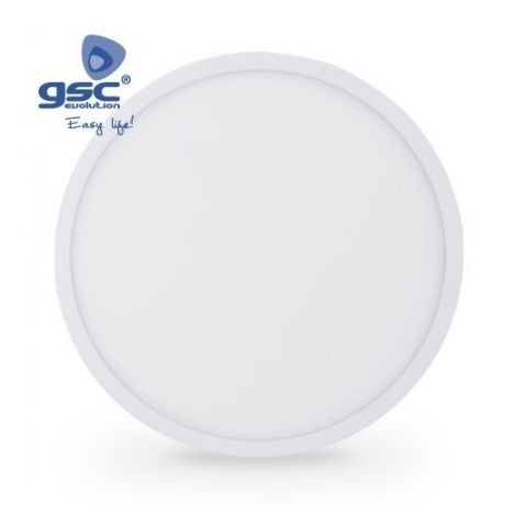 Downlight LED empotrable redondo 25W 2400lm 6000K blanco GSC 0704709