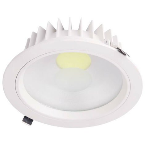 Downlight LED Empotrable Redondo 30W 2565lm Ø20cm 4000K Blanco Eilen