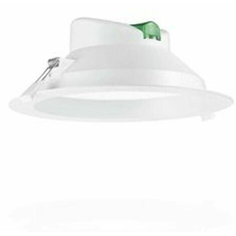 Downlight led empotrable Roblan blanco de 25W . Luz neutra ALLINR2480BF