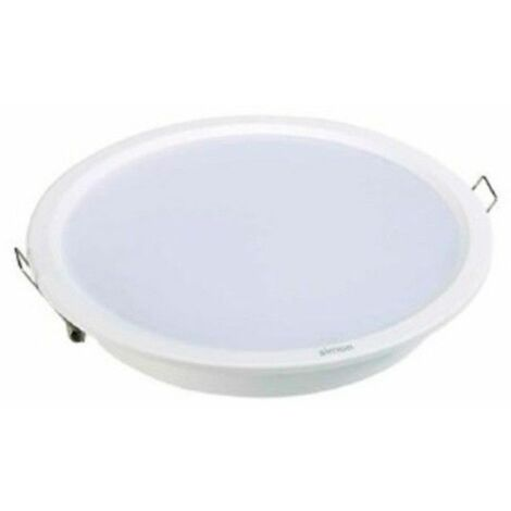Downlight led empotrable Simon blanco de 20W. Luz neutra 71522030-984