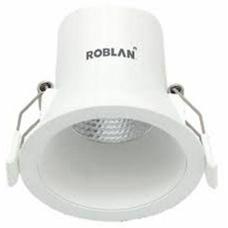 Downlight led empotrable y regulable de Roblan