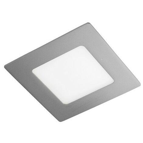 Downlight LED empotrar cuadrado 6W NOVO PLUS CRISTALRECORD