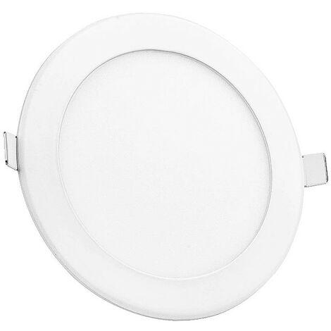 Downlight LED extra plat 18W blanc