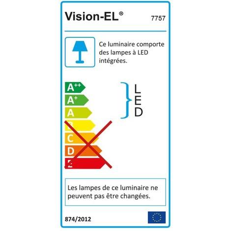 Downlight LED Extra Plat (panel LED) 18W Ø225