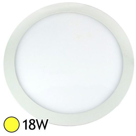 DownLight LED Extra Plat (panel LED) 18W Ø300