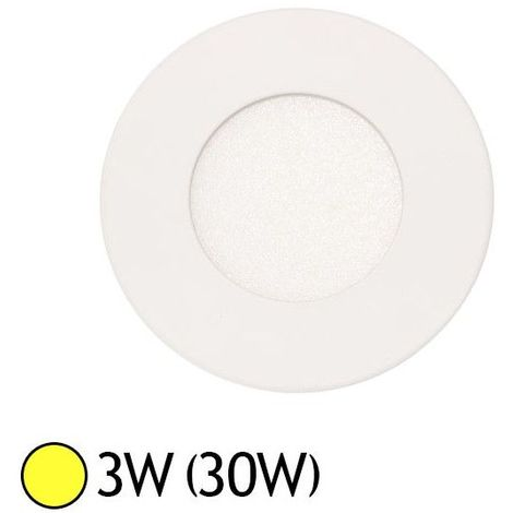 Downlight LED Extra Plat (panel LED) 3W