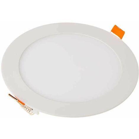 Downlight led extraplano circular blanco 12W 120°