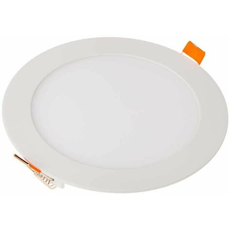 Downlight led extraplano circular blanco 12W 120°