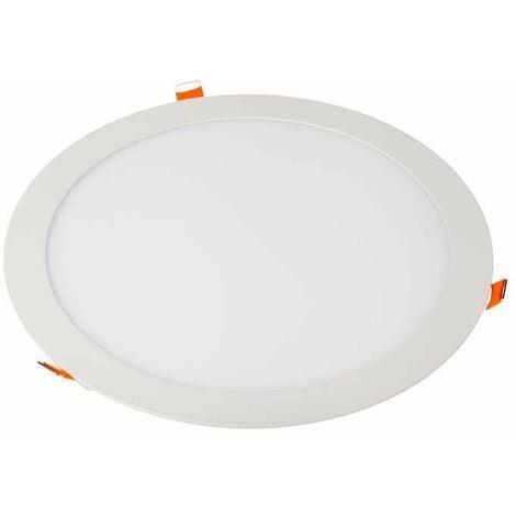 Downlight led extraplano circular blanco 24W 120°