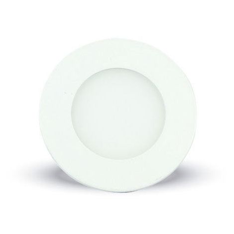 Downlight led extraplano circular blanco 3W 120°