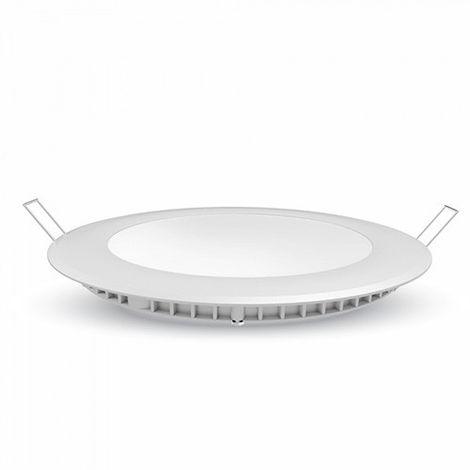 Downlight led extraplano circular blanco Samsung 24W 120° Temperatura de color - 3000K Blanco cálido