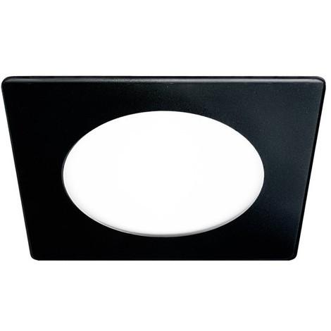 Downlight LED Extraplano cristal 20W (negro) - Wonderlamp