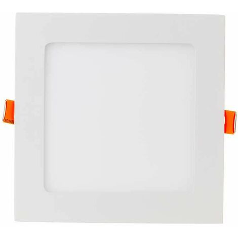 Downlight led extraplano cuadrado blanco 18W 120° PLUS