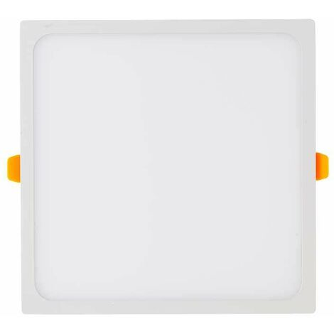 Downlight led extraplano cuadrado blanco 3W 120°