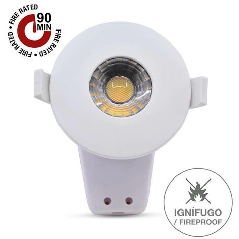 Downlight LED Ignífugo 8W con regulador de luz (3CCT)