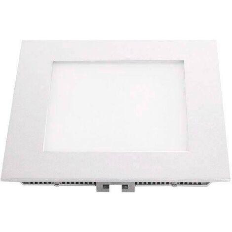 Downlight Led MARAK 12W, aluminio lacado en color blanco