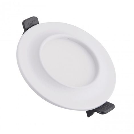 Downlight LED Moldura circular 9W blanco 4000k