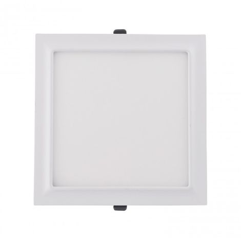 Downlight LED moldura cuadrado 20W 4000k blanco