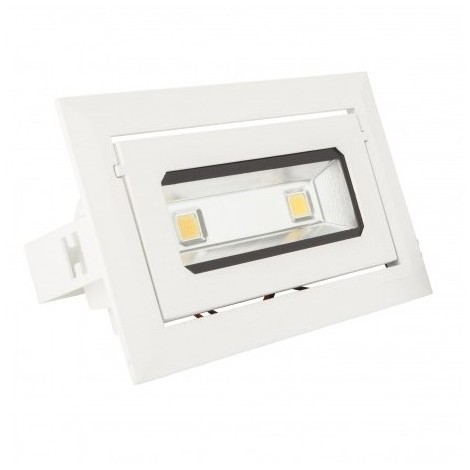 DOWNLIGHT LED RECTANGULAR BASCULANTE 13W
