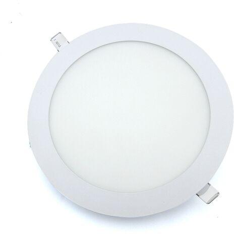Downlight Led Redondo 18W Blanco Con sensor de movimiento -Disponible en varias versiones