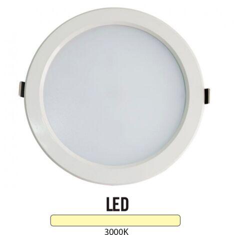 Downlight Led Redondo 25W Blanco -Disponible en varias versiones