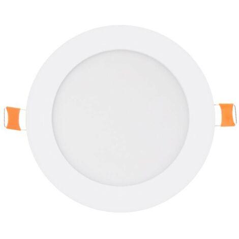 Downlight LED redondo 9W Aro Blanco