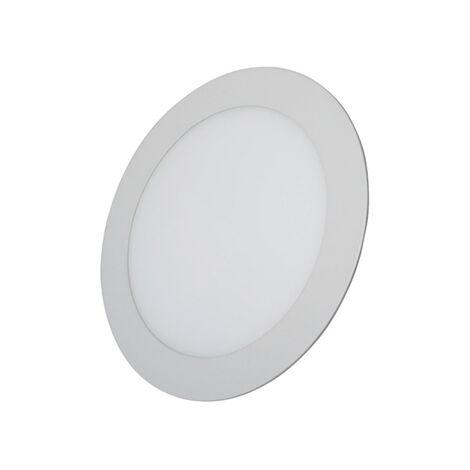 Downlight LED redondo blanco de empotrar 18w 3000k luz calida