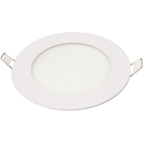Downlight Led redondo empotrable blanco 12W 5500°K 960lm (Panalight LDESHV12L55WG120L)
