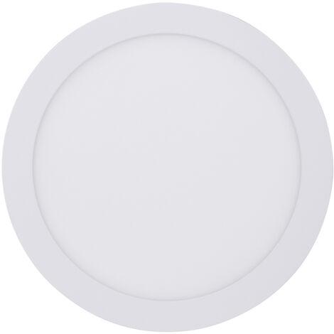 Downlight Led redondo empotrable blanco 18W 4200°K corte:ø210mm. (Libertina 4002820)