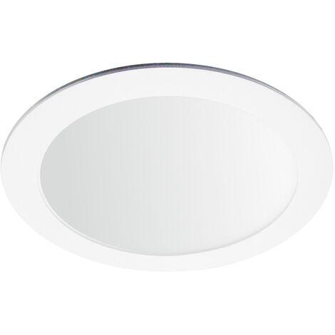Downlight Led redondo empotrable blanco 18W 6000°K 225x19mm. (Ledesma 10741)