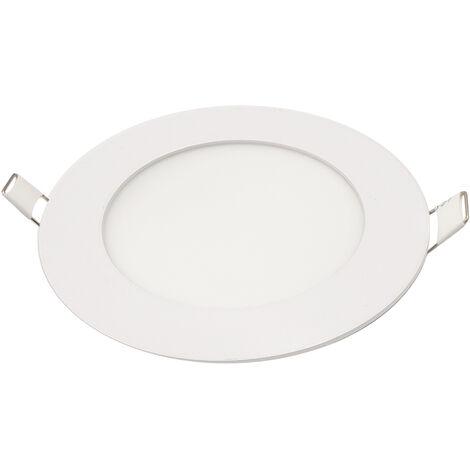 Downlight Led redondo empotrable blanco 6W 4000°K 480lm (Panalight LDESHV6L40WG120L)