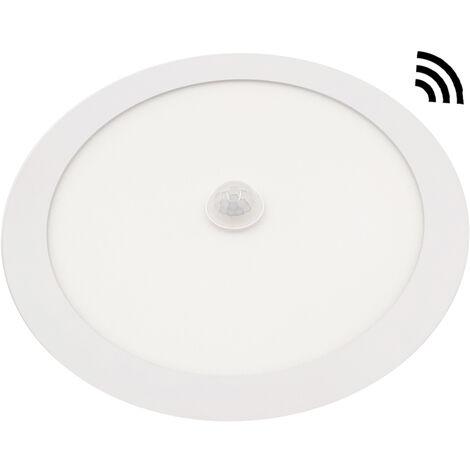 Downlight Led redondo empotrable blanco con sensor 18W 4000°K 1440Lm (Panalight LDXSHV18L40WG120L)